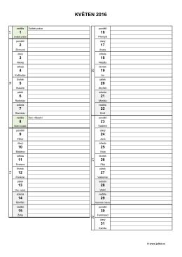měsíční plánovací kalendář 2016 – květen – (dokument PDF)