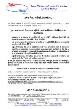 Vyzva Pronajem HospudkaPod Lipou 1_2016