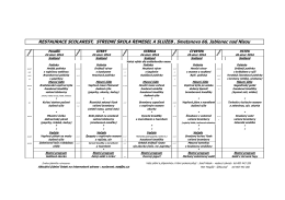 Jídelní lístek online - žáci  - Střední škola řemesel a služeb