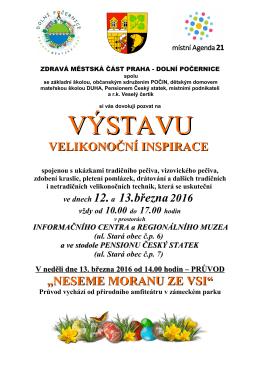 Pozvánka - Dolní Počernice