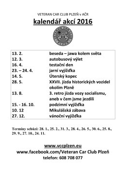 Podrobný kalendář v PDF k tisku