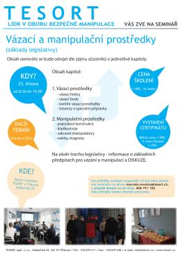 Leták školení2 - Tesort spol. s ro