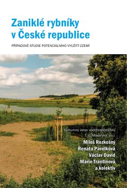 Zaniklé rybníky v ČR