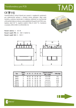 Transformátory pro PCB
