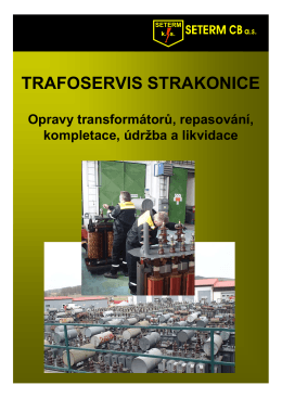 TRAFOSERVIS STRAKONICE