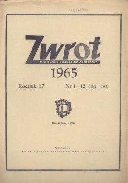Rocznik 17 Nr 1—12 (182 — 193)