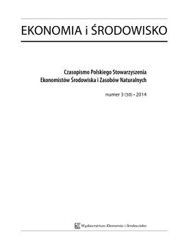 50 - Fundacja Ekonomistów Środowiska i Zasobów Naturalnych