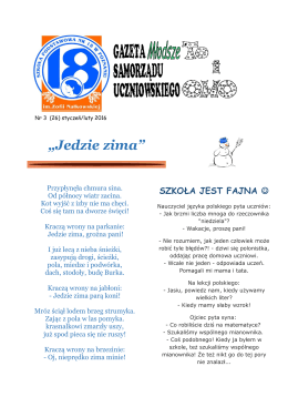 Młodsze To i owo nr 26 - Szkoła Podstawowa nr 18 w Poznaniu