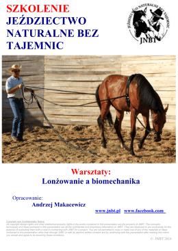 17.02 Lonżowanie a Biomechanika,Rzeszów