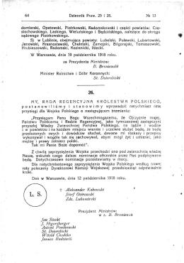 B. Broniewski St. Dzierzbicki t Aleksander K
