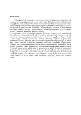 W języku polskim - Instytut Fizyki Jądrowej PAN