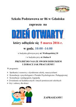 zobacz plakat - SP nr 86 w Gdańsku