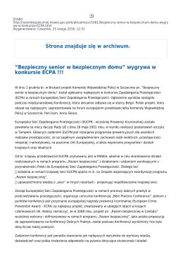 Generuj PDF - Razem Bezpieczniej