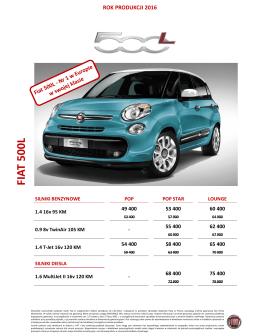 Cennik RP2016 - Fiat - katalogi i cenniki