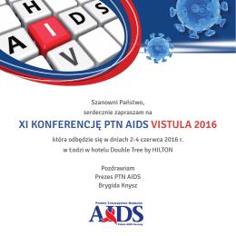 XI KONFERENCJĘ PTN AIDS VISTULA 2016