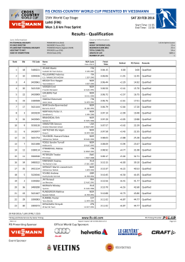 Results - Qualification