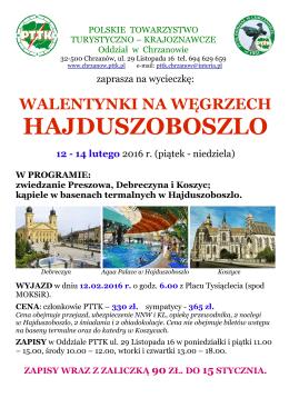 hajduszoboszlo - PTTK Chrzanów
