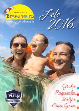 Bravotours katalog leto 2016