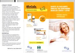 Saveti za pacijente koji boluju od karcinoma debelog creva i jetre