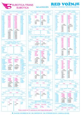 Red voznje prigradski A3 REDIZAJN x3 29022016