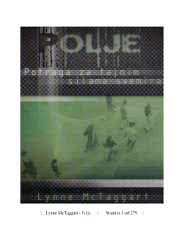 Lynne McTaggart - Polje
