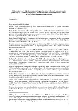 NPKBibliografija042014 - Nacionalni pravilnik za katalogizaciju