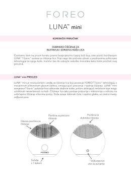 preuzmite foreo luna™ mini korisnički priručnik