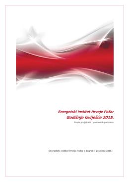 Projekti u 2015. - Energetski institut Hrvoje Požar