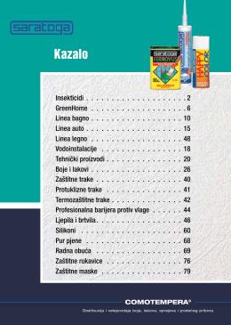 Kazalo - Comotempera