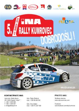 5. INA Rally Kumrovec 04.