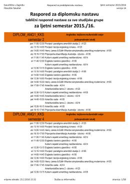tablica rasporeda za FF 2015./16.