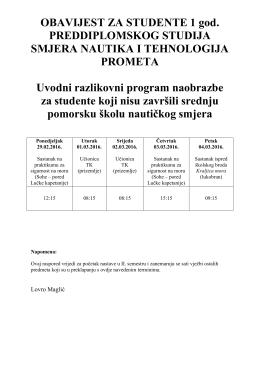 raspored