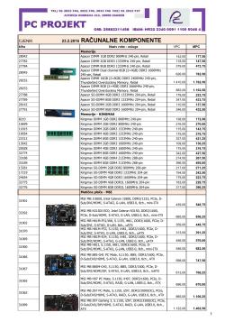 Računalne komponente i računalna periferija