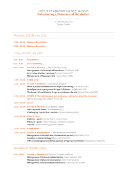 the programme in PDF