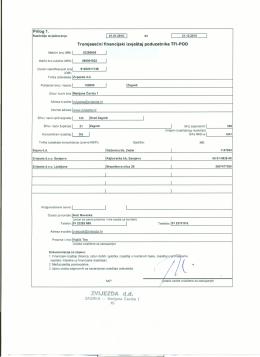 Četvrti kvartal 4Q., nerevidirano, konsolidirano, 2015. godina PDF