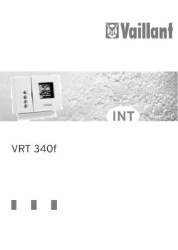 VRT 340f - Vaillant
