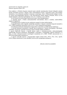 ismertető - Miskolci Egyetemi Kiadó