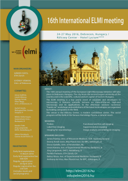 ELMI_2016b copy - ELMI meeting 2016