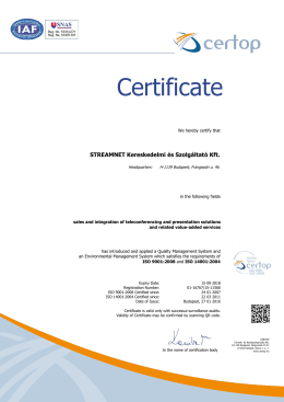 ISO certificate english PDF