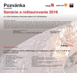 Pozvanka seminare tubag 2016_Bratislava
