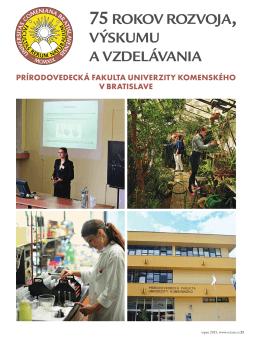 75 rokov rozvoja, výskumu