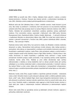 Smäd Janka Sirku - Obec Ivanka pri Dunaji