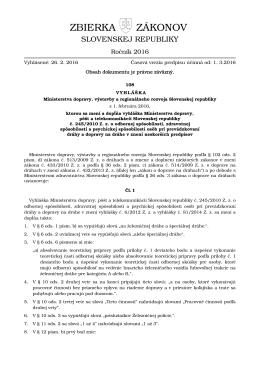 108/2016 - Elektronická zbierka zákonov