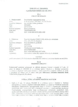 zmluvné strany - Trenčiansky samosprávny kraj