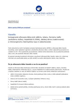 Vaxelis, Common name: diphtheria, tetanus, pertussis (acellular