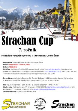 Strachan Cup 2016 - SKI Centrum Strachan