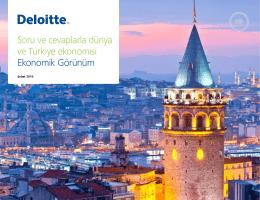 Soru ve cevaplarla dünya ve Türkiye ekonomisi Ekonomik