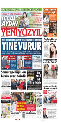 E-Gazete Oku - Yeni Yüzyıl Gazetesi