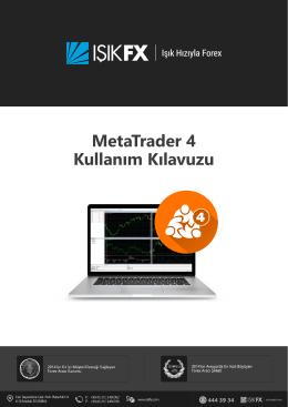 MetaTrader 4 Kullanım Kılavuzu