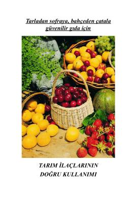 Yeni Basım-Tarım İlaçlarının Doğru